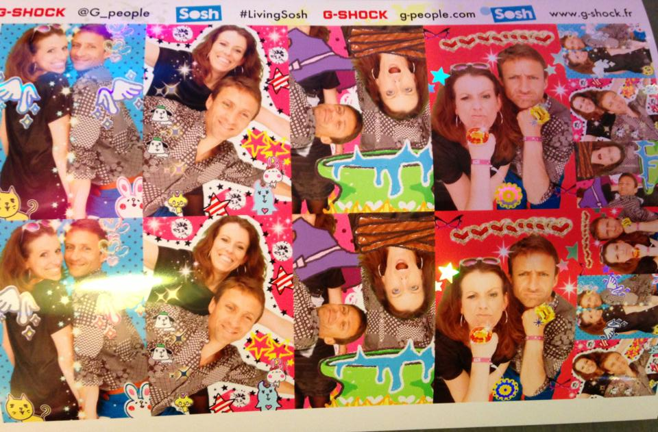 Le purikura, photomaton kawaï made in Japan @babaOrun