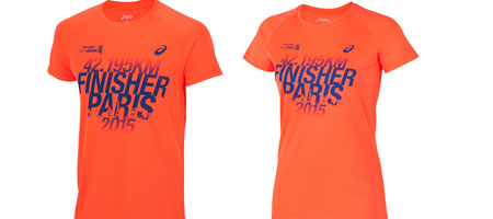 tee=shirt finisher marathon de paris 2015
